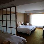Separate sleeping area of Room 1117