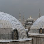Blue Mosque taken from Hagia Sofia