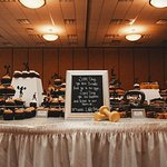 Crossfit Themed Cupcake Table