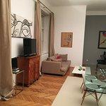 Wohnzimmer inkl. Flügel in der Bösendorfer Suite
