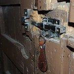 La seguridad del hostal depende de esta cerradura