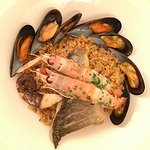Fresh seafood and handmade cous cous