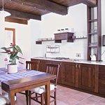 cucina di un appartamento 2+3