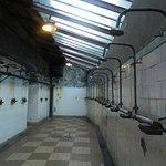 Musée de la mine Saint Etienne, salle des douches (eau à 40°)