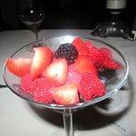 Sorbet and Fruit, , Morton's, Sacramento, CA