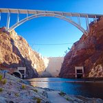 Kayak trip begins at the foot of the Hoover Dam