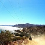 Great dirt roads up and down the Sea of Cortez