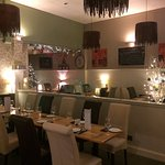 Beautifully decorated for the festive season. Very homely and welcoming.