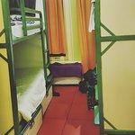 Bedroom (padlocked safes under the bed)
