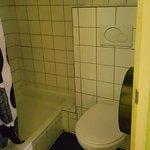 Ensuite bathroom with toilet