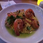 Saffron Risotto with Shrimp and Scallops