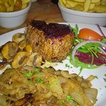 Best fillet steak cooked to perfection