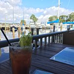 The best view and the best Bloody Mary in town!!