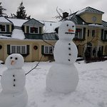 Winter whimsy at the Ripplecove Hotel