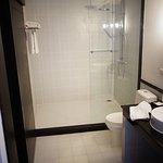 Une douche que vous pouvez partager à partir de deux personnes, voire plus...