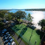 Adjacent Tennis Courts & Noosa River