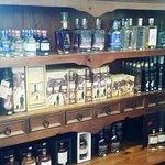 Tasmanian distillery products.