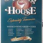 Some of the products we stock at the Tasting House.
