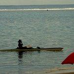 PK 18, quiet lagoon beach