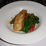 pan-seared brook trout