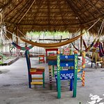 There is virtually a hammock for every guest.