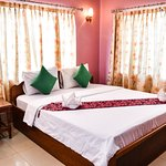 Double room with air-condition at Ta Som Guesthouse & Tour Service