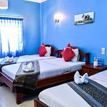 Triple room with air-condition at Ta Som Guesthouse & Tour Services