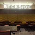 New Beckside Bar. Real Ale and Wholesome Food.