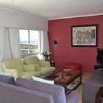 Luxury apartment lounge