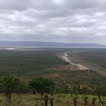 View at a point on game drive