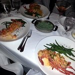 three lobster thermidors - delicious