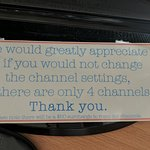 Note on TV