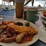 Example of breakfast at Buffé 2 restaurant.