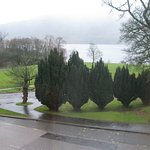View from room 124, looking across to Loch Lomond.