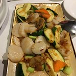 XO scallops, well cooked scallops & very good value with the number of scallops