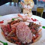 Salade (tartare de thon)