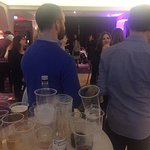 This is what passes for a St Stephens night event at the Midleton Park!  A total mess at the bar