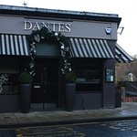 The Frontage of Dante's Restaurant.
