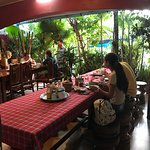 Ta Som Garden restaurant: All rooms rate including breakfast at 6:30am - 9am