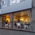Stacked Diner on 60B Kloof Street - open 'til late.