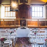 The Tolhouse can be hired as a wedding venue