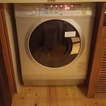 Washing machines in rooms on 2/F and 3/F
