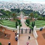 Looking down Mount Carmel