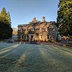 A lovely crisp winter morning at Eshott Hall