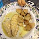 Fish & seasoned potatoes - DELICIOUS!!!