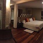 Hermosa habitación la que nos dieron