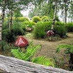 Magical childrens garden at Yarram Memorial Park