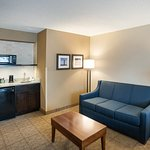 King Suite with sofabed and wet bar