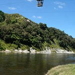 Cable car across the river