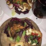 House Salad and Bruschetta